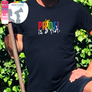 Foto Shirt Pride is a riot
