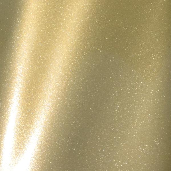 Goldfarbene Glitzerfolie fuer Plotmotive